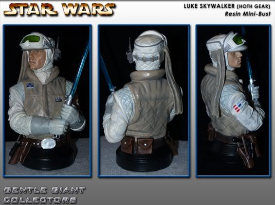 Gentle Giant - Luke Skywalker Hoth Mini Bust Lukeho10