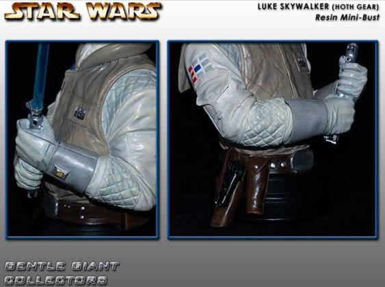 Gentle Giant - Luke Skywalker Hoth Mini Bust Lukeho11