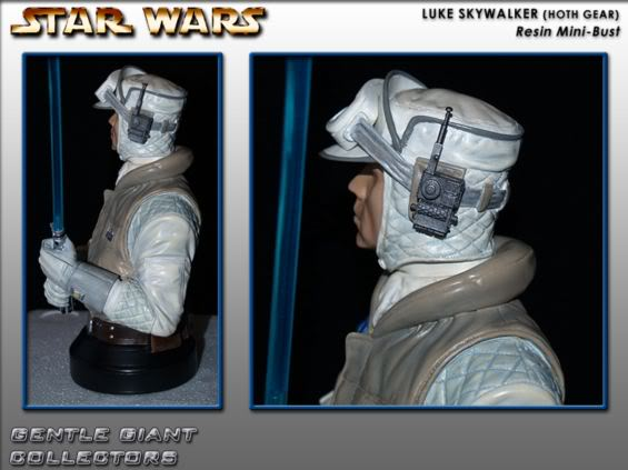 Gentle Giant - Luke Skywalker Hoth Mini Bust Lukeho12