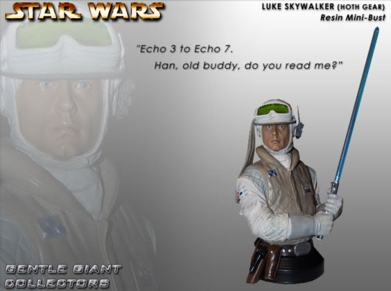 Gentle Giant - Luke Skywalker Hoth Mini Bust Lukeho15