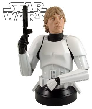 Luke Skywalker in Stormtrooper Disguise Mini bust Lukesk10