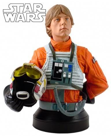 Luke Skywalker Pilot Mini bust Lukesk11