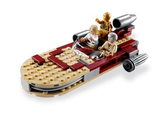 LEGO STAR WARS - 8092 - Luke's Landspeeder Lukesp10