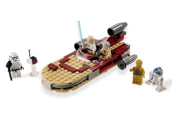 LEGO STAR WARS - 8092 - Luke's Landspeeder Lukesp11