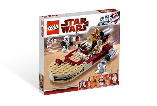 LEGO STAR WARS - 8092 - Luke's Landspeeder Lukesp12