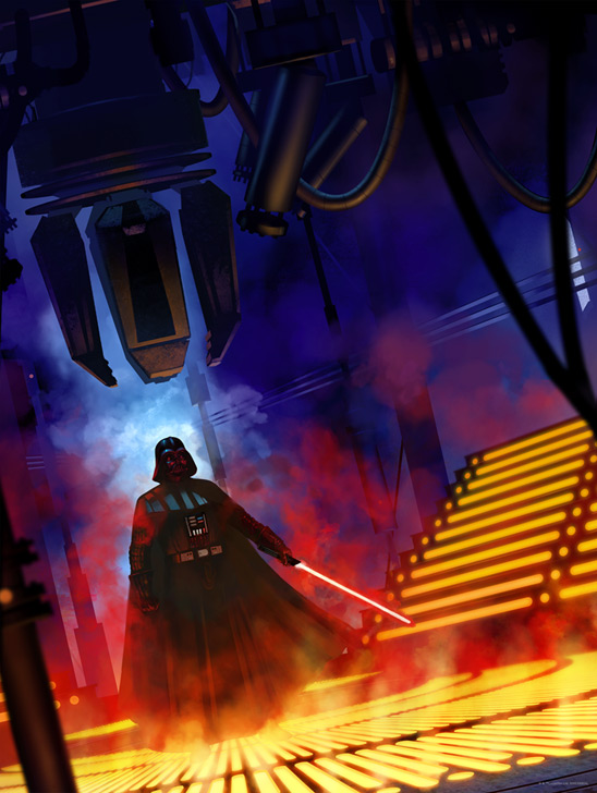 Artwork Star Wars - ACME - Lurking Lineage Lurkin11