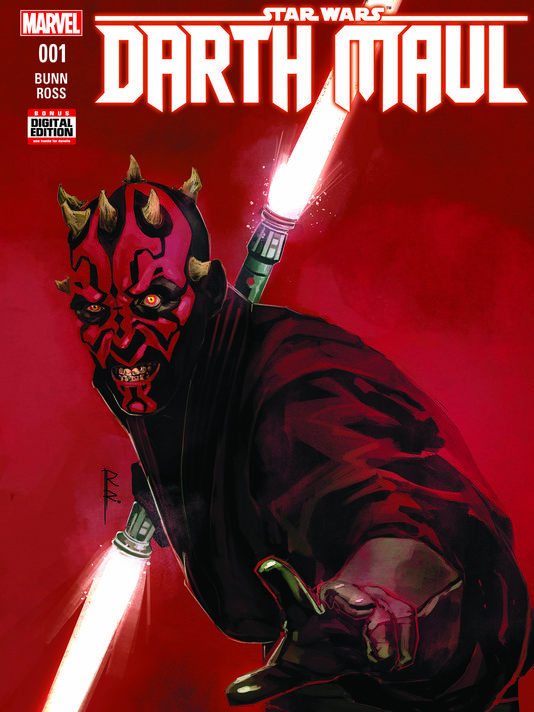 Marvel comics US Star Wars Darth Maul M0111