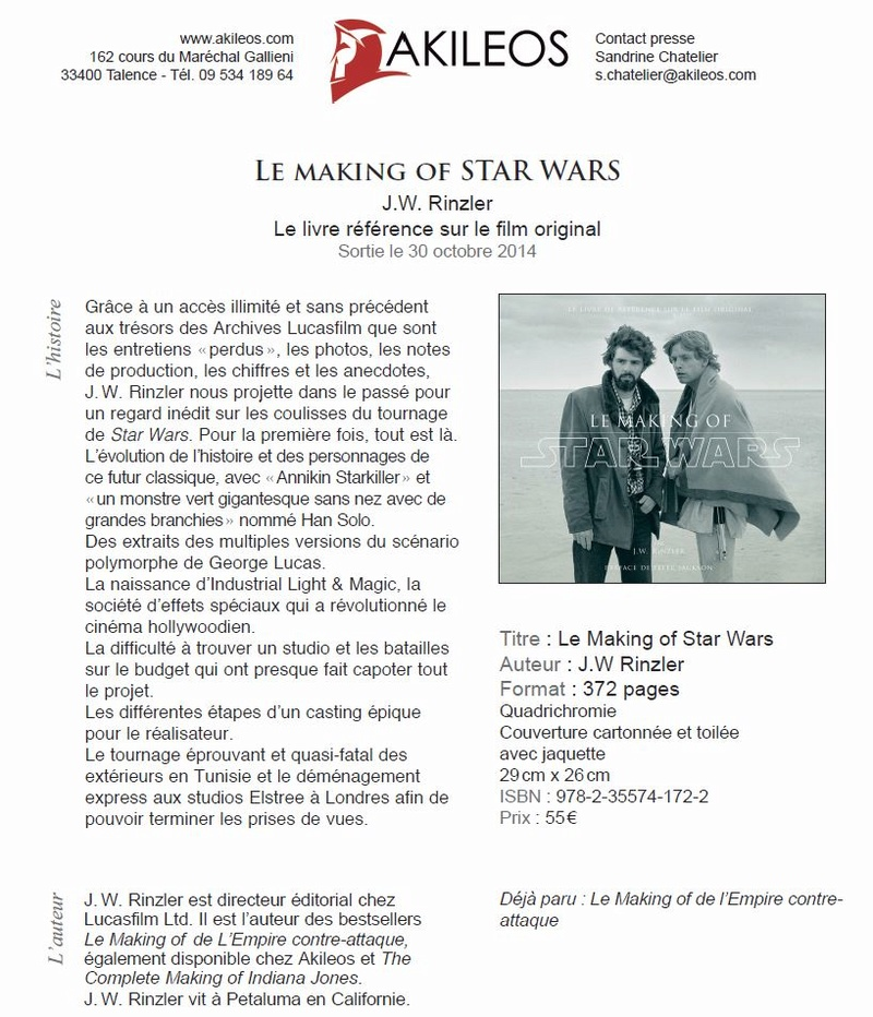 The Making of Star Wars: The Definitive Story Making11
