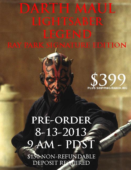 eFX Legend Edition - Darth Maul Lightsaber Maulsa11