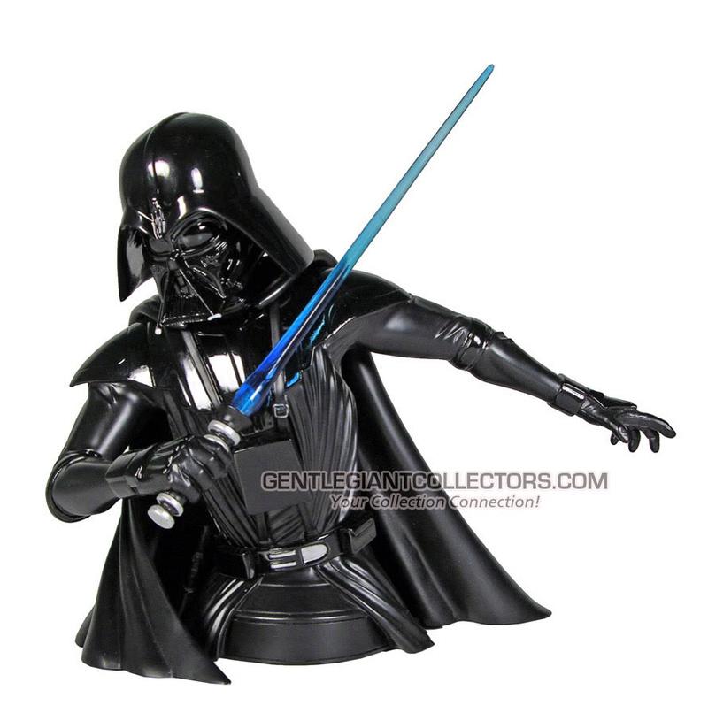 Gentle Giant - Darth Vader McQuarrie Concept Mini Bust Mcquar12