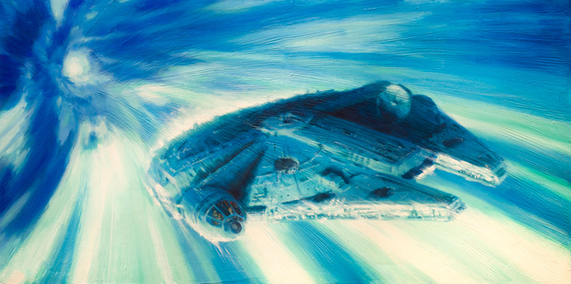 Artwork Star Wars - ACME - Millennium Falcon... Millen10