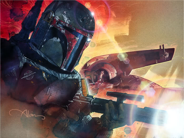 Artwork Star Wars - ACME - Mr. Fett Mister10