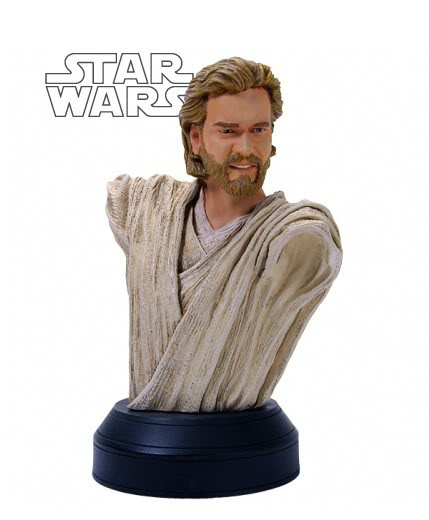 Obi-Wan Kenobi AOTC Mini bust Obi10