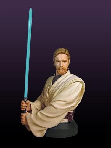 Gentle Giant - Star Wars Episode 3 Obi-Wan Kenobi Bust  Obi210