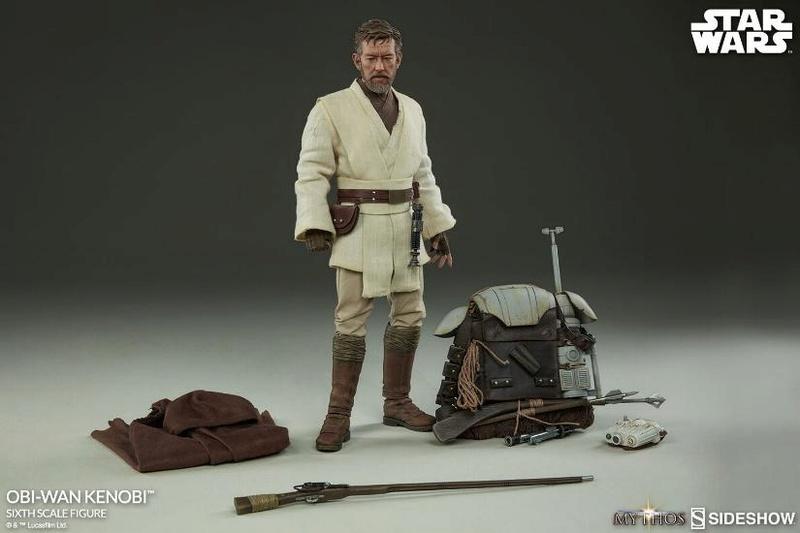 Sideshow Star Wars Mythos Obi-Wan Kenobi Sixth Scale (2017)  Obi_wa52