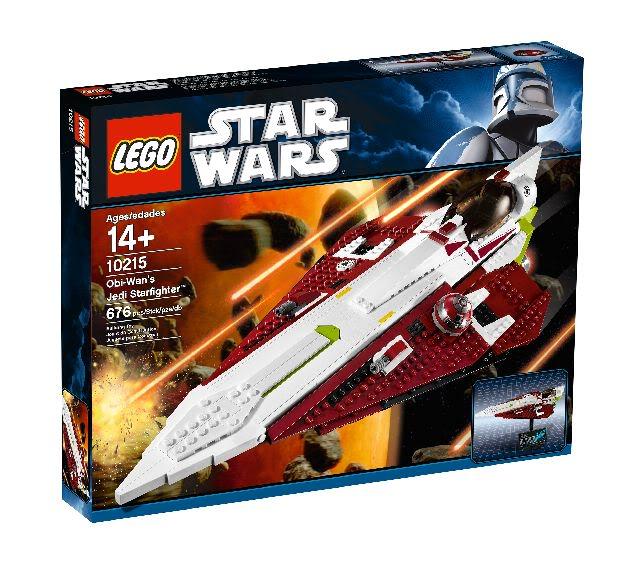 LEGO STAR WARS - 10215 - Obi Wan's Jedi Starfighter Obiwan10