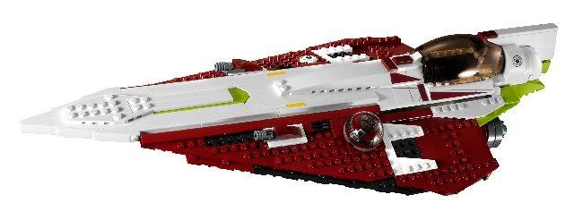 LEGO STAR WARS - 10215 - Obi Wan's Jedi Starfighter Obiwan11