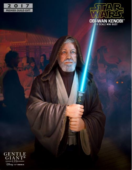 Gentle Giant PGM 2017 - Obi-Wan Death Star Duel Mini Bust  Obiwan12
