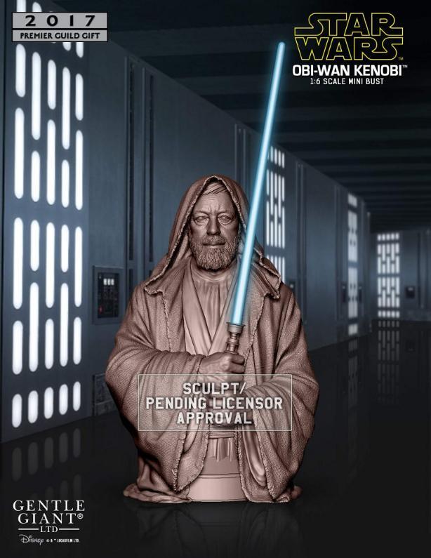 Gentle Giant PGM 2017 - Obi-Wan Death Star Duel Mini Bust  Obiwan25