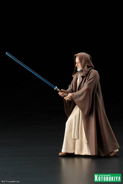 Kotobukiya Star Wars - Obi-Wan Kenobi ARTFX+ Statue Obiwan35