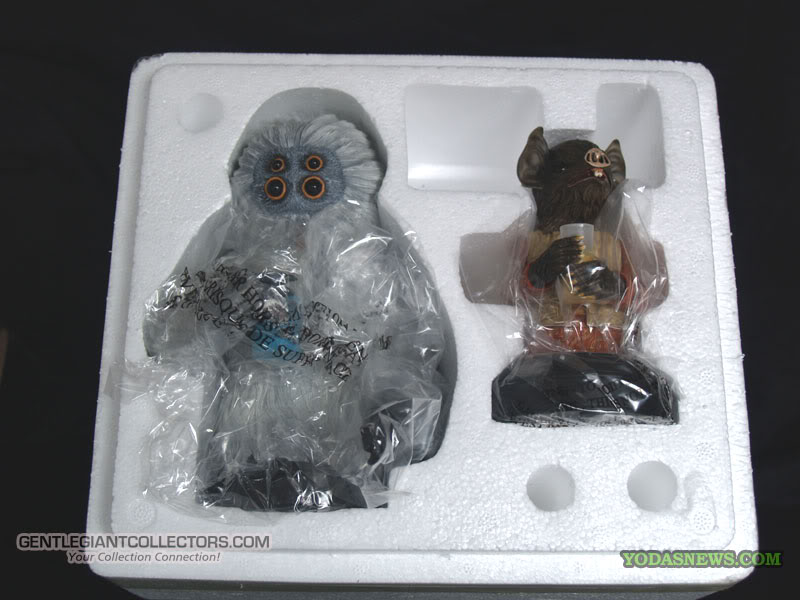 Gentle Giant - Muftak and Kabe Mini Busts  P1014113