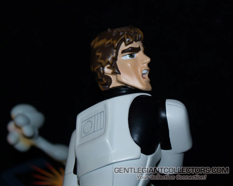 Gentle Giant -Han Solo Stormtrooper Animated Maquette Statue P4230912