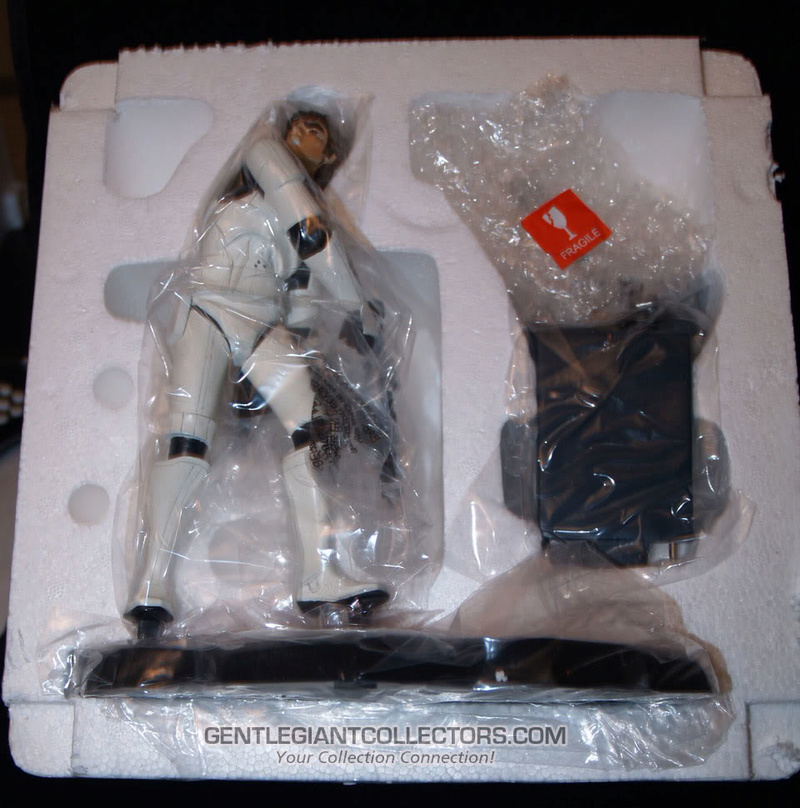 Gentle Giant -Han Solo Stormtrooper Animated Maquette Statue P4230914