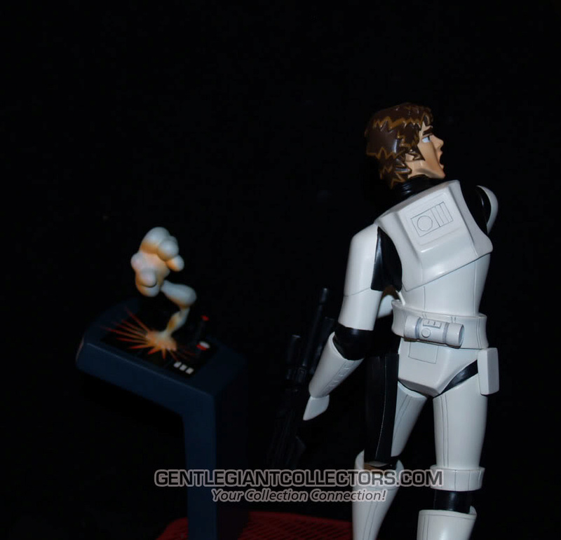 Gentle Giant -Han Solo Stormtrooper Animated Maquette Statue P4230915