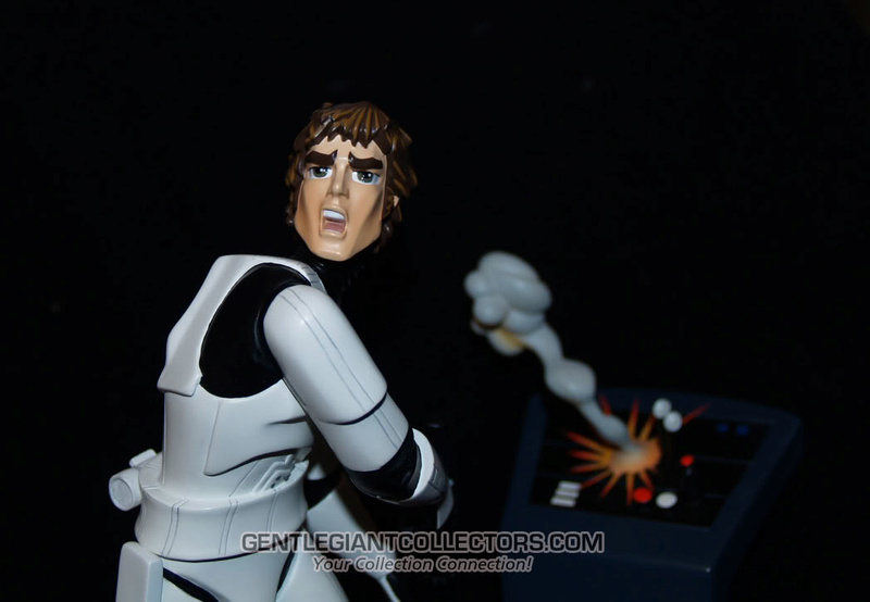 Gentle Giant -Han Solo Stormtrooper Animated Maquette Statue P4230917