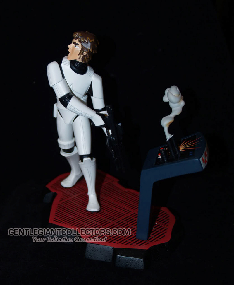 Gentle Giant -Han Solo Stormtrooper Animated Maquette Statue P4230919