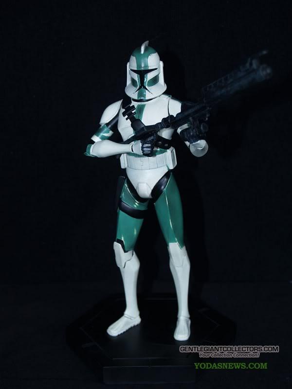 Gentle Giant - Clone Wars Maquette  Sgt Clone Trooper  P7072016