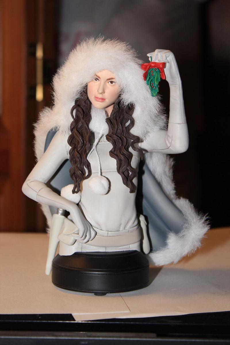 Gentle Giant - Padme Snow mini bust Pa0310
