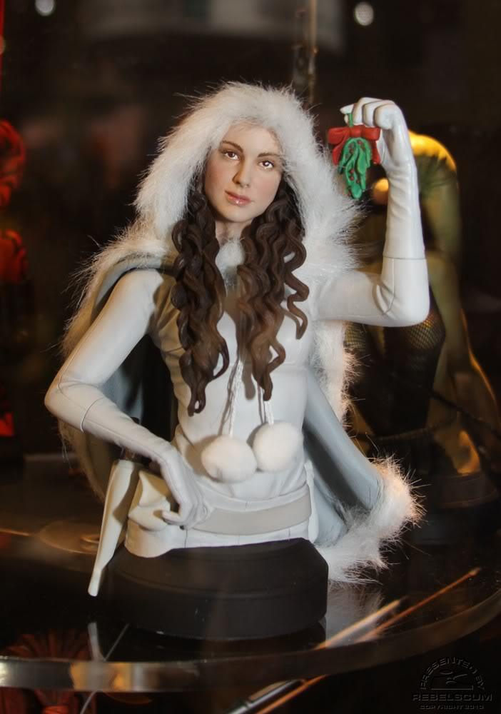 Gentle Giant - Padme Snow mini bust Padmes10