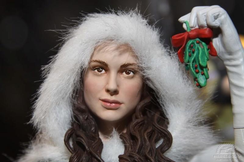 Gentle Giant - Padme Snow mini bust Padmes11