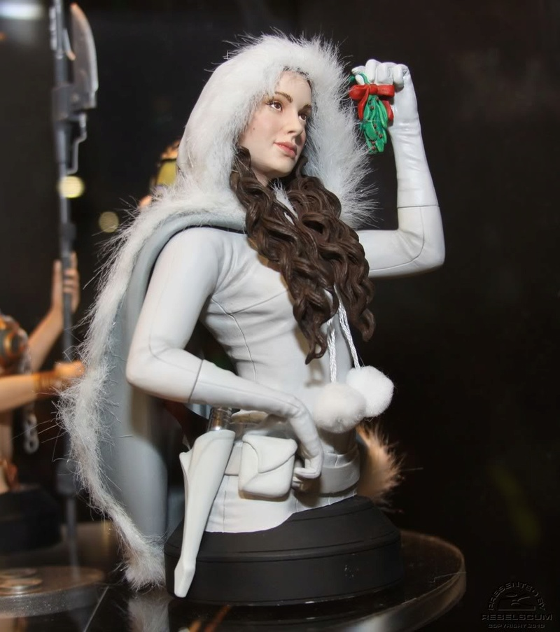 Gentle Giant - Padme Snow mini bust Padmes12