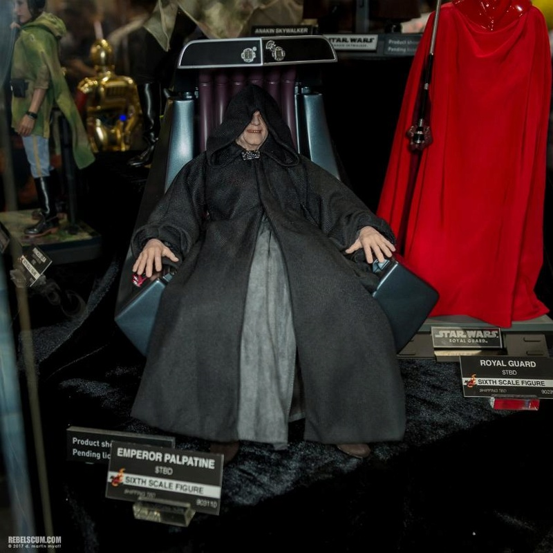 Hot Toys Star Wars - Emperor Palpatine Sixth Scale Figure   Palpat11