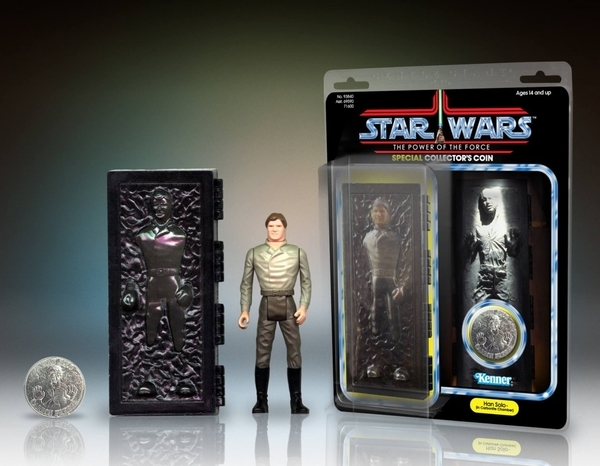 HAN SOLO IN CARBONITE CHAMBER JUMBO FIGURE - PGM2016 Pgm20112