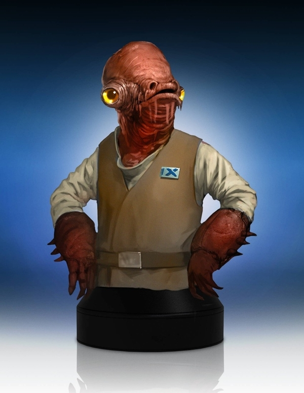 Admiral Ackbar Mini Bust The Force Awakens - PGM2016 Pgm20113