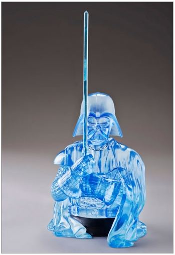 Gentle Giant - Darth Vader Holographic Mini Bust PGM 2013 Pgmvad10