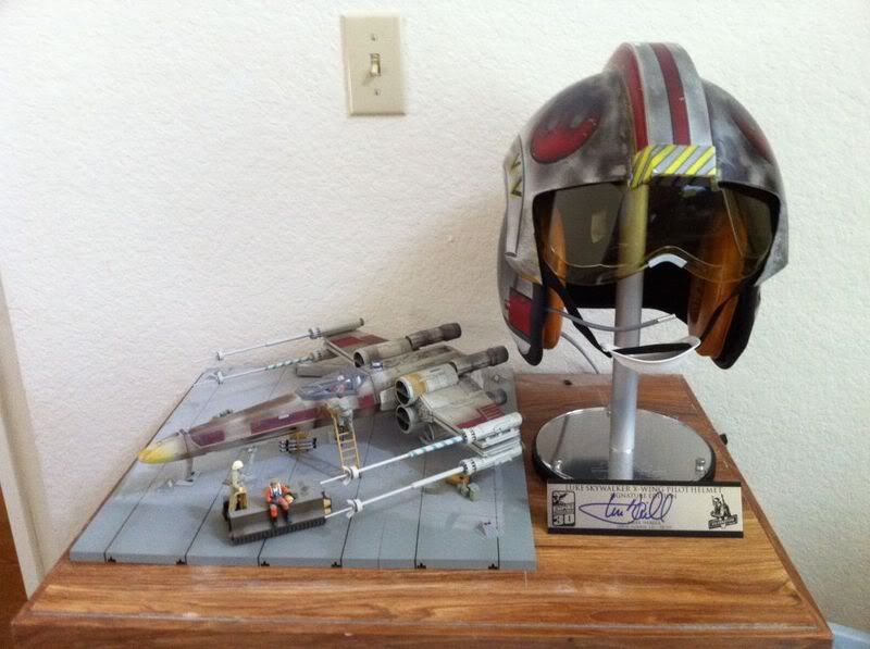 Efx - Luke Skywalker X-Wing Starfighter helmet - Page 2 Photo114