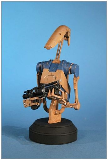 Gentle Giant - Star Wars - Pilot Battle Droid - Mini Bust Pilot010