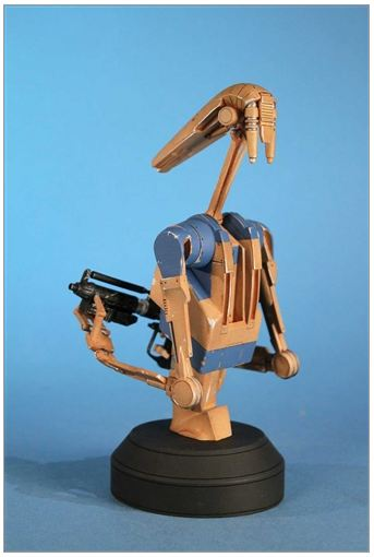Gentle Giant - Star Wars - Pilot Battle Droid - Mini Bust Pilot011