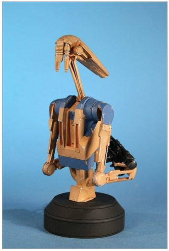 Gentle Giant - Star Wars - Pilot Battle Droid - Mini Bust Pilot012