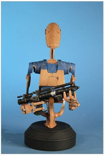 Gentle Giant - Star Wars - Pilot Battle Droid - Mini Bust Pilot013