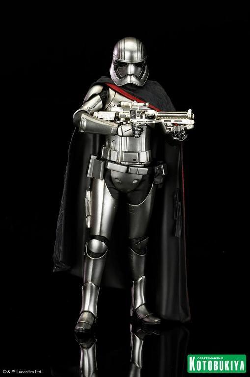 Kotobukiya Star Wars - Captain Phasma ARTFX+ Statue Plasma12