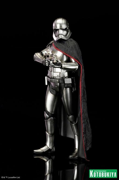 Kotobukiya Star Wars - Captain Phasma ARTFX+ Statue Plasma13