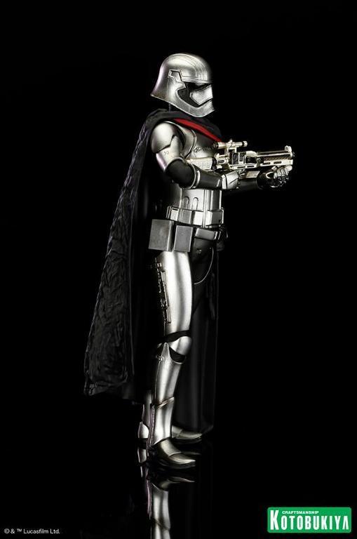 Kotobukiya Star Wars - Captain Phasma ARTFX+ Statue Plasma15