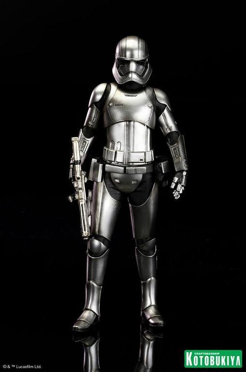 Kotobukiya Star Wars - Captain Phasma ARTFX+ Statue Plasma20