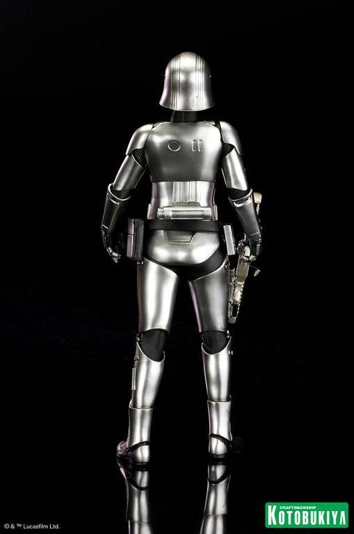 Kotobukiya Star Wars - Captain Phasma ARTFX+ Statue Plasma21
