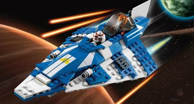 LEGO STAR WARS - 8093 - Plo Koon's Jedi Starfighter Plokoo10